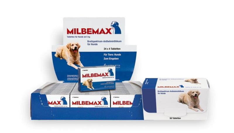 Препарат Мильбемакс для собак