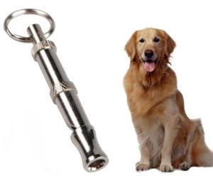 Металлические свистки для собак