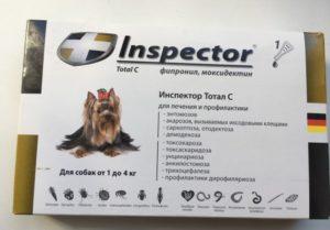 Ошейник инспектор тотал