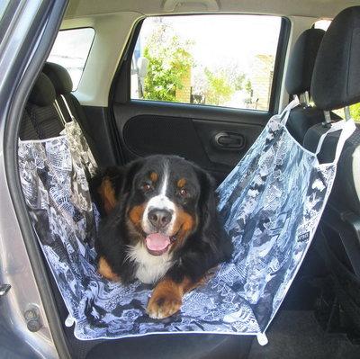 Автогамак для перевозки собак 10